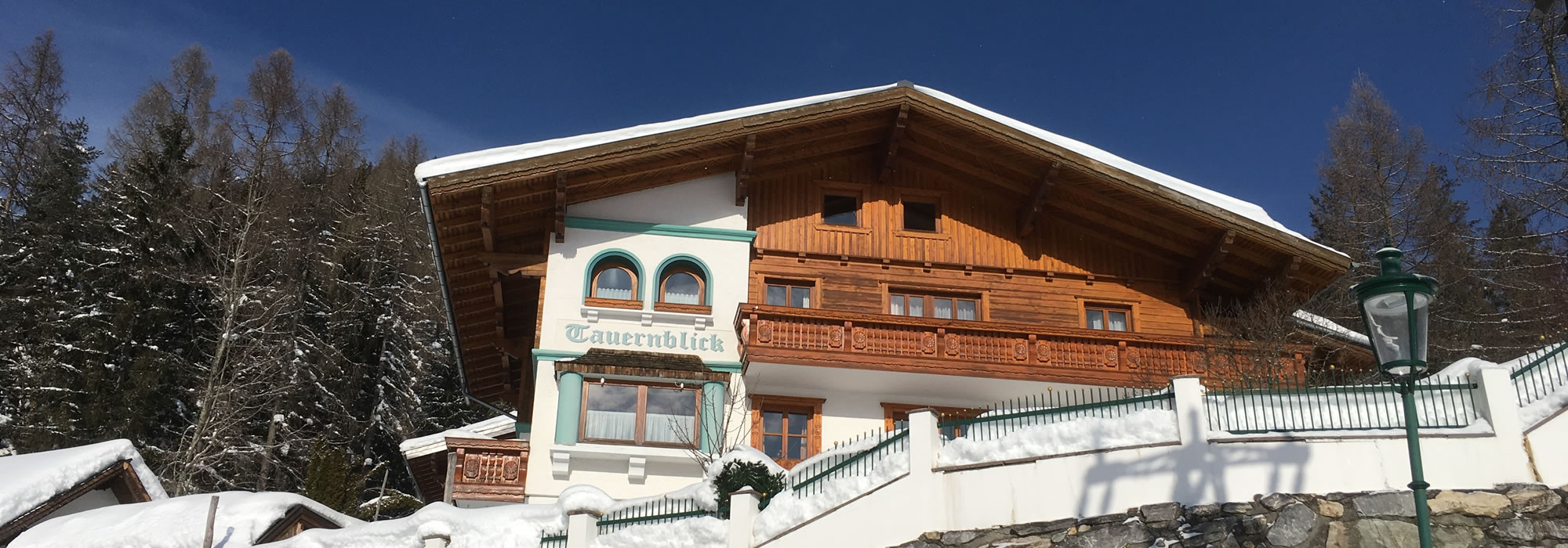 Winterurlaub in Forstau, Appartements Tauernblick